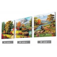 Cheap Scenery Design 3D Lenticular Printing Service 3D Frameless Pictures for sale