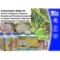 Best Cas 63090-40-4 Systemic Fungicide For Trees , Carendazim 50% Sc wholesale