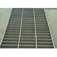 Best Stainless Steel Heavy Duty Steel Grating , Round Bar 25 X 5 SS Floor Grating wholesale