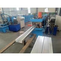 Buy cheap C Purlin Channel Roll Forming Machine With Punching Holes Function 5.5kw from wholesalers
