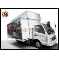 Cheap Mobile 5D Cinema in Truck , 5D Movie Theater Equipment with Motion Chair for sale