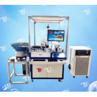 Buy cheap Automatic CO2 Laser Marking Machine For Natural Agglomerated Tapered Cork Stopper from wholesalers