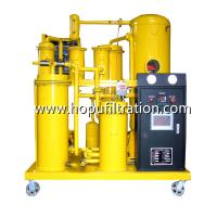Best PLC Mobile Lube Oil Filtration Machine/ Hydraulic Oil Purifier / Thermal Oil Purification Hydraulic Oil Filter Machine wholesale