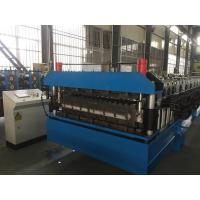 Best Chain Drive Double Layer Roll Forming Machine / Roll Former With Manual Decoiler wholesale