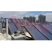 Best CE Flat Plate Solar Collector For Hotel Heating System , Copper Pipe Solar Heat Collector wholesale