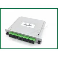 Best 1x8 SC/APC PLC Splitter Cassette Type Fiber Optic Distribution Box, 1x16 1x32 1x64 wholesale