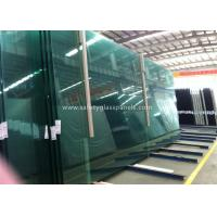 Best Fire Proof Safety Laminated Glass Curtain Wall / Stairs Safety Glass Panels wholesale