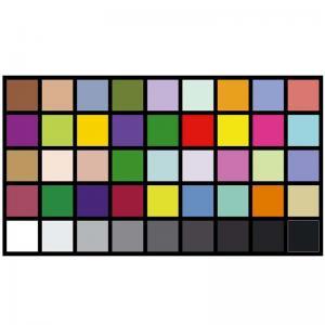 Best AC220V Reflective DTV Color Rendition Test Chart Sineimage YE0226 wholesale