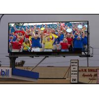 Best P10mm DIP346 1R1G1B Epstar Chip MBI5124 IC Outdoor Commercial Advertising LED Display wholesale