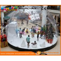 China Blow Up Globe Advertising Inflatables Indoor 0.8 MM PVC Inflatable Snow Globe on sale