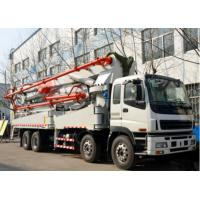 Cheap 37 Meter Used Concrete Pump Truck Dongfeng Brand 1200mmx2490mmx3850mm for sale