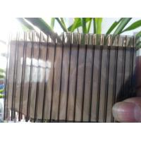 Cheap Color Bronze 6mm / 8mm Double Wall Polycarbonate Greenhouse Panels Multi Purpose for sale