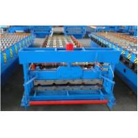 Best 3kw High Speed Roof Panel Roll Forming Machine Using Galvanized Steel Coil wholesale