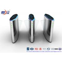 Best 304 Stainless Steel Flap Barrier Gate Security Flap Turnstile Access Control System wholesale