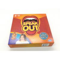 Best Classic Party Game Speak Out Game Cards For 4-5 Players English Version wholesale