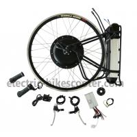Best Rear Wheel Electric Bike Kit 36V 500W Brushless Hub Motor 25km - 38km / h wholesale