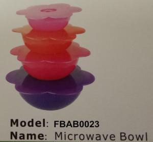 Best FBAB0023 for wholesales food-grade pp plastic microwave bowl set wholesale