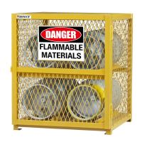 Best Explosion Proof Chemical Storage Cabinets With Adjustable Shelf For Gas Cylinders cage wholesale