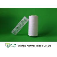 Best Raw White Polyester Sewing Thread yarn , 30/2 High Twist Yarn AAA Grade Virgin Bright wholesale