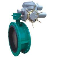 Best Electric Flanged Butterfly Valves DN450 With Motor 230V 50Hz wholesale
