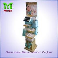 Best Cosmetics Store Promotion Cardboard Pop Display Stands for Nail Polish / Brow Powder wholesale