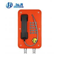 Best Vandal Resistant Industrial Explosion Proof Telephone For Zone 1 / Zone 2 wholesale