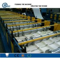 Customized Roll Forming Line For Steel Roof Panel 8 - 25 / min 18 Stations