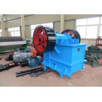 Best 100 TPH Rock Jaw Crusher / Rock Crushing Machine PE 500 × 750 mm Feed Opening wholesale