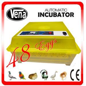 Best Auto& energy-saving chicken incubator thermostat setting 48 chicken eggs incubator 220V & 110V &12V wholesale