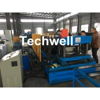 Best Automatic PLC Control Cable Tray Roll Forming Machine With Servo Guiding Device wholesale