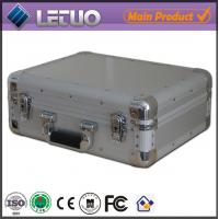 China Aluminum china supplier portable dvd player case aluminium storage box To Fit 100 CD's on sale