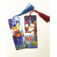 Best Eco-friendly Lenticular 3D Bookmarks PET Material With Tassel Customized wholesale