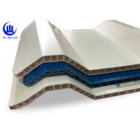 Buy cheap 10 mm thickness pvc twin wall hollow solid hard strong roof sheet from wholesalers