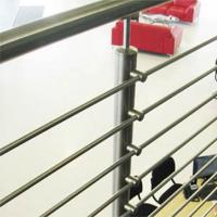 Cheap Best Quality s.s Solid Rod Bar Railing Price / Balcony Stainless Steel Rod Bar for sale