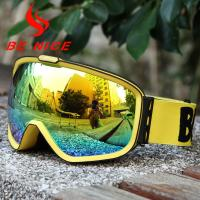 Best Wind Resistance Anti Fog Snowboard Goggles wholesale