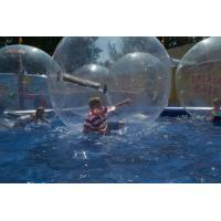 Quality PVC Water Bounce Inflatable Human Water Walking Ball , Walking On Water Bubble Ball wholesale