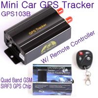 Best GPS103B Remote Control Car Vehicle Truck GPS Tracker Real Time GPS Tracking Locator System W/ Cut-off oil & power by SMS wholesale