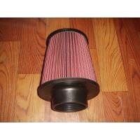 Best Racing Auto Air Filters Upper And Lower With Rubber Cover / k And n Air Intake Filter wholesale
