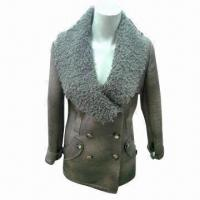 Best Fashionable faux fur coat, ODM and OEM orders are welcome wholesale