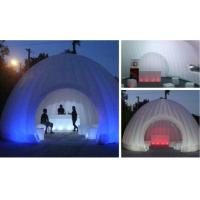 Best Hot sale advertisin inflatable lighting tent for tea house / inflatable tent with led tent wholesale