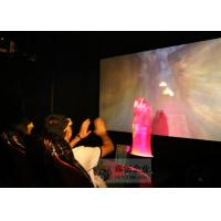Best Large Screen 5D Movie Theater , Amazing Special Effect 6 Dof Hydraulic System wholesale