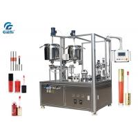 Best High Precision Cosmetic Filling Machine 2 Heads With Servo Motor For Lip Gloss wholesale