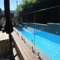 Best Glass Pool Fence with Certificates / Baby Pool Fence Glass Railing Outdoor Frameless Railing wholesale