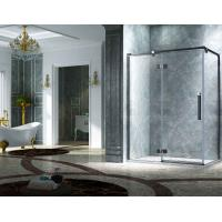 Best Elegant Design Semi Frameless Diamond Shape Shower Enclosure With Pivot Door, AB 3231-1 wholesale