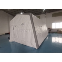 Best 0.6mm PVC Air Sealed Inflatable Hospital Tent For Quick Rescue wholesale