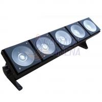 Best Sound Control 5*30 Watt RGB Led Matrix Light , 5 Heads LED Stage Light DMX Control wholesale