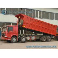 Buy cheap HOWO 4 Axles Garbage Trucks , waste collection Truck 8X4 Drive from wholesalers