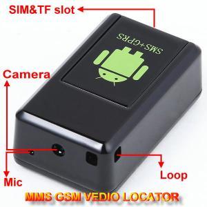 Best GF-08 GSM MMS Video Photo Transmit Camera Recorder GPS Tracker Aduio Listening Bug 3-in-1 wholesale