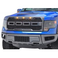 Best Auto Accessories Upgrade Front Grille with light for 2009 2012 Ford Raptor F150 wholesale