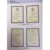 Guangzhou Changfeng Steel Co., LTD Certifications